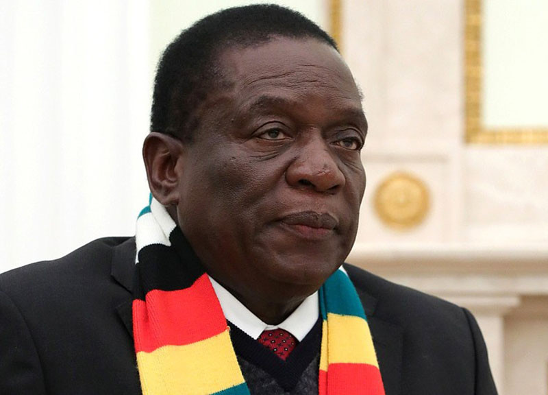 Mnangagwa awarded with another Honourary Doctorate
