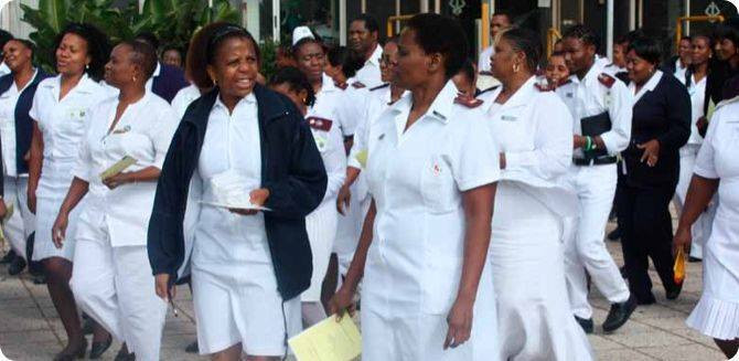 """Nurses go on strike with immediate effect after government """"ignored"""" their concerns"""